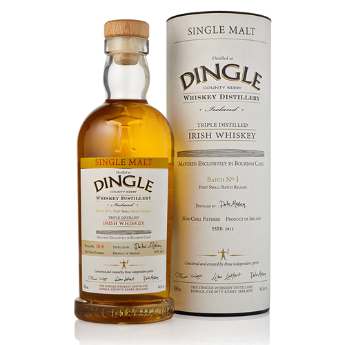 Dingle Single Malt Batch No. 1 - Bourbon Cask - The Malt Vault