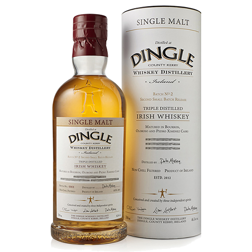 Dingle Single Malt Batch No. 2 - Sherry and Bourbon Cask - The Malt Vault