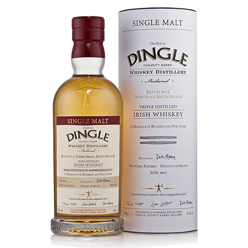 Dingle Single Malt Batch No. 3 - Bourbon and Port Cask - The Malt Vault