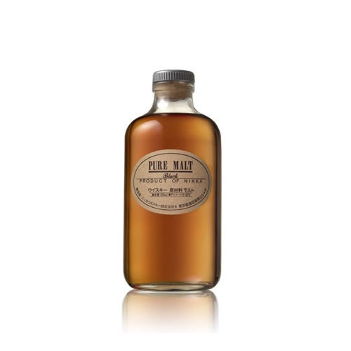 Nikka Pure Malt Black Japanese Whisky 500ml - The Malt Vault