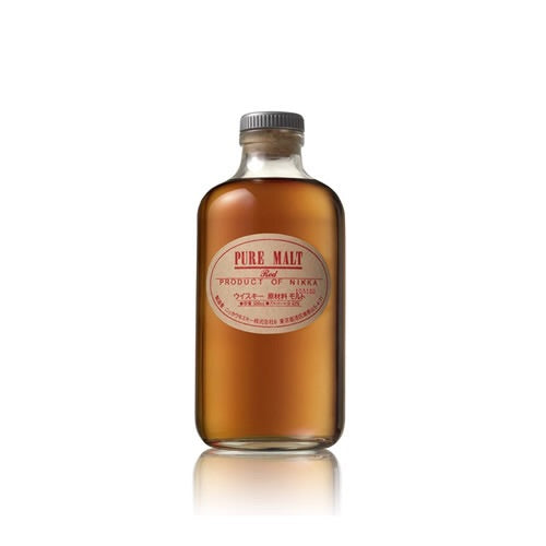 Nikka Pure Malt Red Japanese Whisky 500ml - The Malt Vault