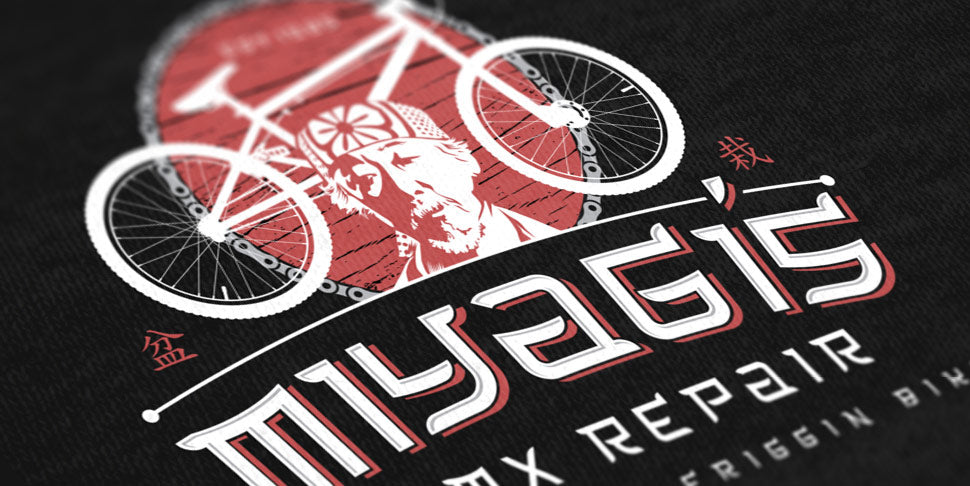 The Karate Kid T-Shirt - Miyagi's BMX Repair