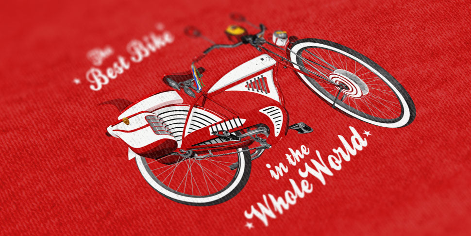 The Best Bike in the Whole World - Pee Wee T-shirt