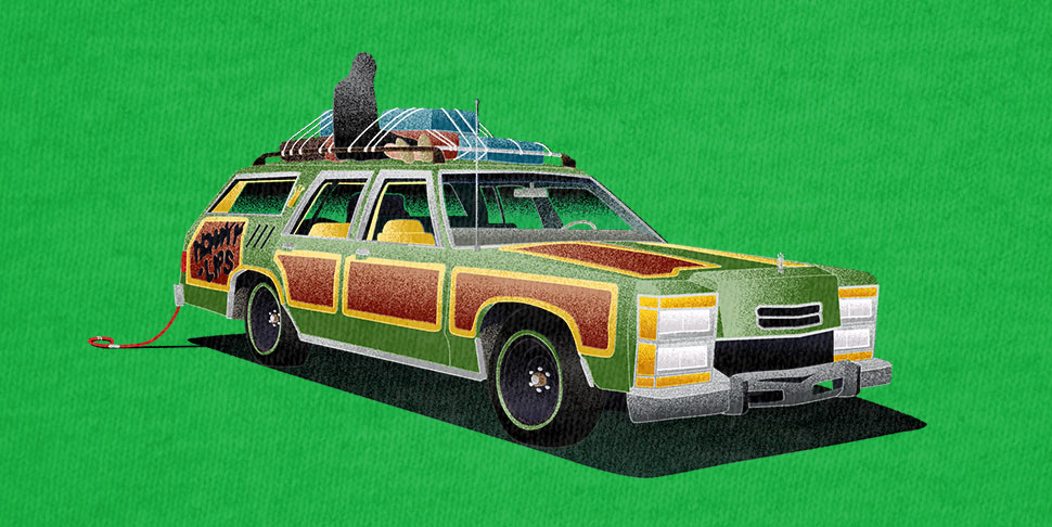 The Family Truckster - Vacation T-shirt