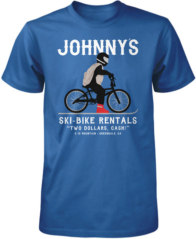 Johnny's Ski Bike Rentals T-Shirt