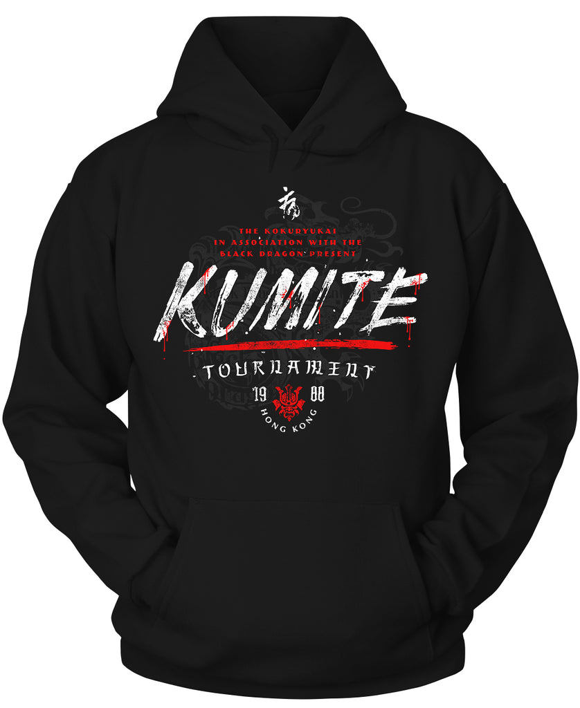 Kumite Tournament Bloodsport Hoodie
