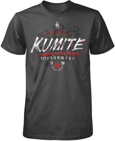 Kumite Tournament Bloodsport T-Shirt