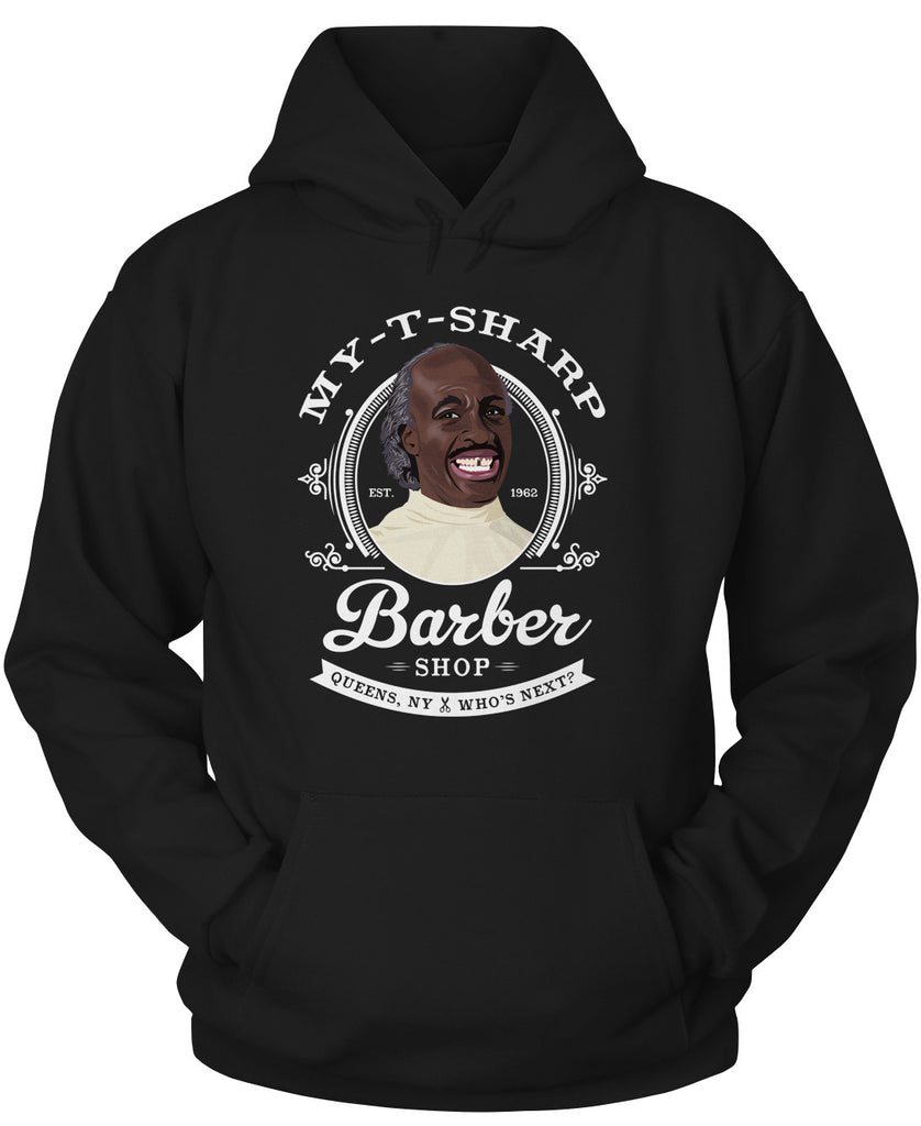 MY-T-SHARP Barber Shop Hoodie