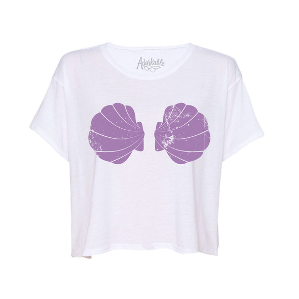 Urban Mermaid Boxy Tee - Whosits Whatsits