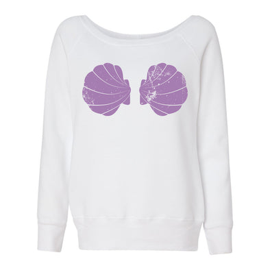 Urban Mermaid Boatneck Sweatshirt - Whosits Whatsits