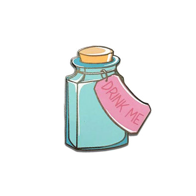 Drink Me Bottle Pin