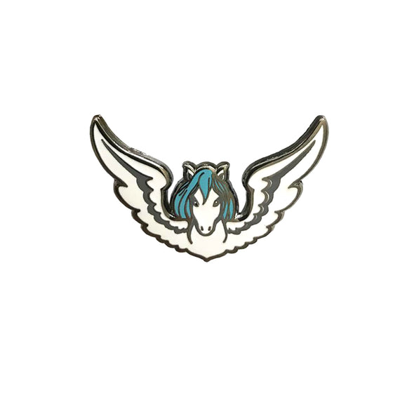 Winged Horse Pin