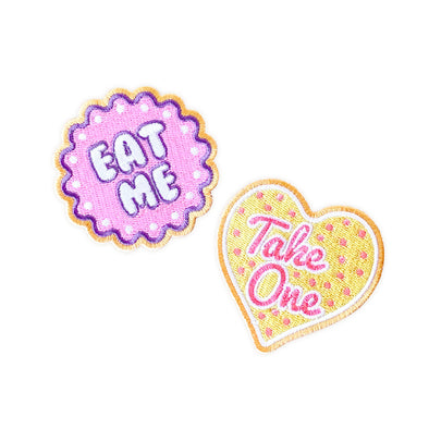 Wonderland Cookie Patches - Whosits & Whatsits