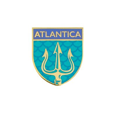 Atlantica Crest Pin - Whosits Whatsits