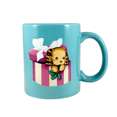 Christmas Puppy Coffee Mug - Whosits Whatsits