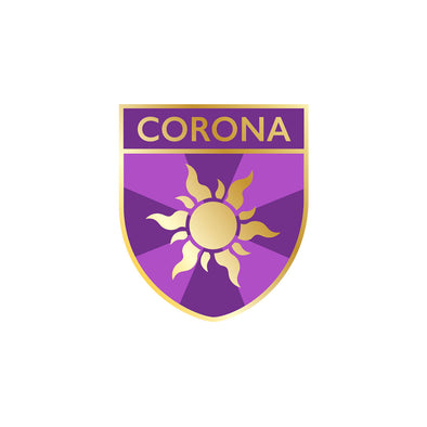 Corona Crest Pin - Whosits Whatsits
