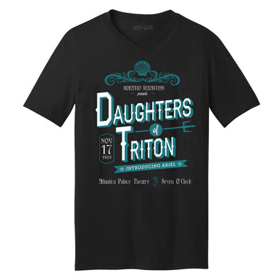 Daughters of triton unisex tee is the perfect concert tee inspired by Ariel in Little Mermaid