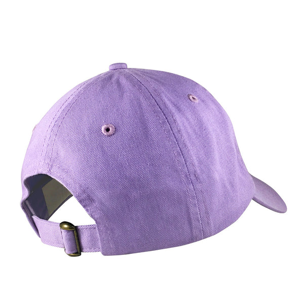 purple floating lantern dad hat inspired by princess rapunzel from Tangled
