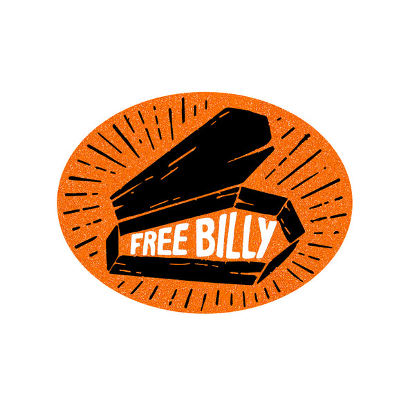 Free Billy Sticker - Whosits Whatsits
