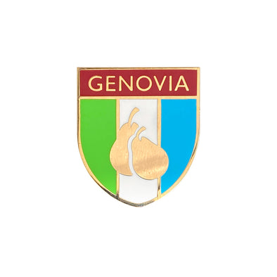 Genovia Crest Pin - Whosits Whatsits