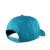 teal gilded tiger dad hat inspired by jasmine from aladdin with velcro strap back