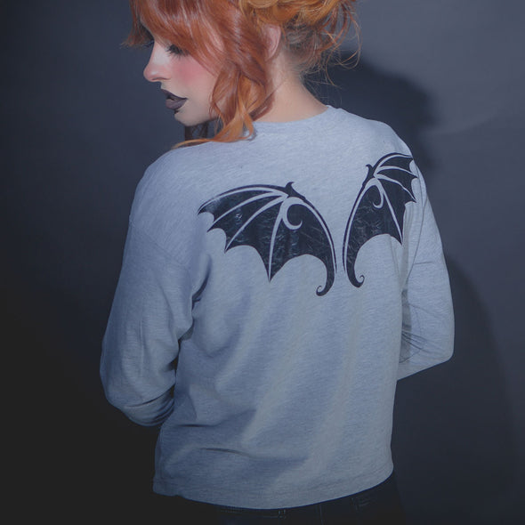 Bat Wings Long Sleeve Tee - Whosits Whatsits