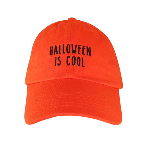Halloween Is Cool Dad Hat