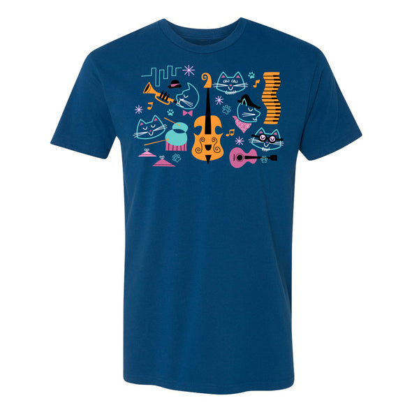 Jazz Cats Tee - Whosits & Whatsits