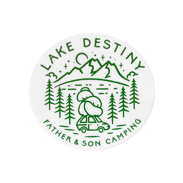 Lake Destiny Sticker - Whosits Whatsits