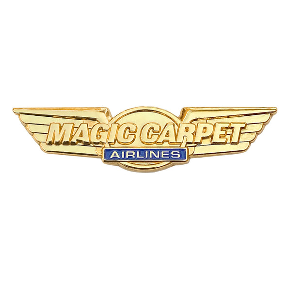 Magic Carpet Airlines Pin - Whosits Whatsits
