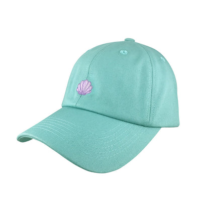 mermaid shell dad hat inspired by princess ariel in little mermaid