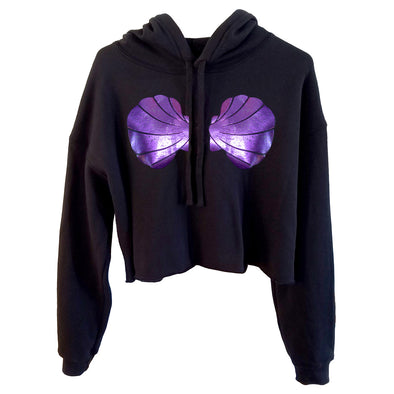 MerVamp Cropped Hoodie - Whosits Whatsits