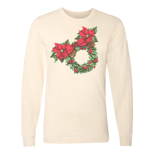 The Merriest Wreath Long Sleeve Tee