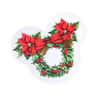 The Merriest Wreath Sticker - Whosits Whatsits