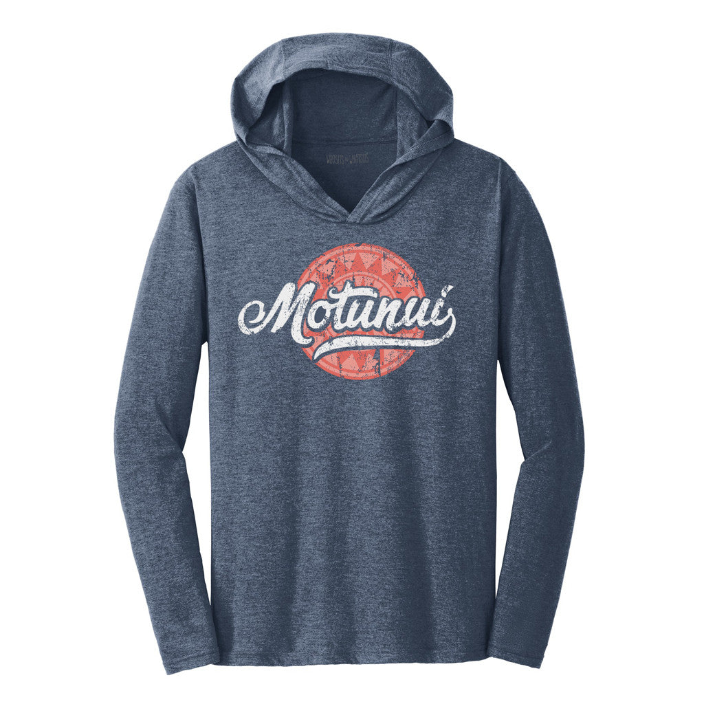 Motunui Hooded Long Sleeve Tee
