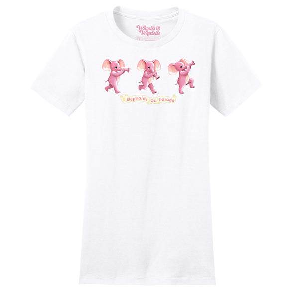 Pink Elephants Women's Tee