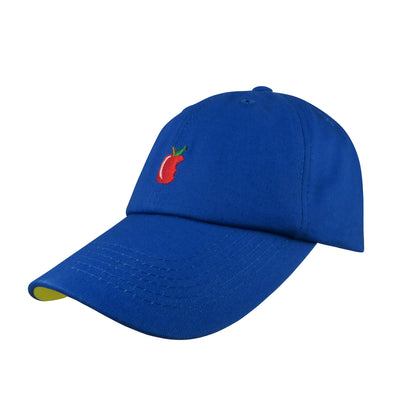 blue yellow poison apple dad hat inspired by snow white seven dwarfs