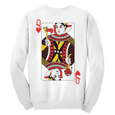 Queen Of Hearts Crewneck Whosits Whatsits