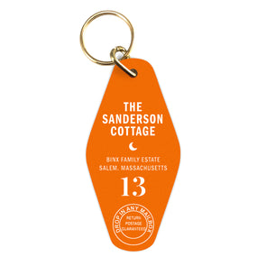 Sanderson Cottage Key Chain