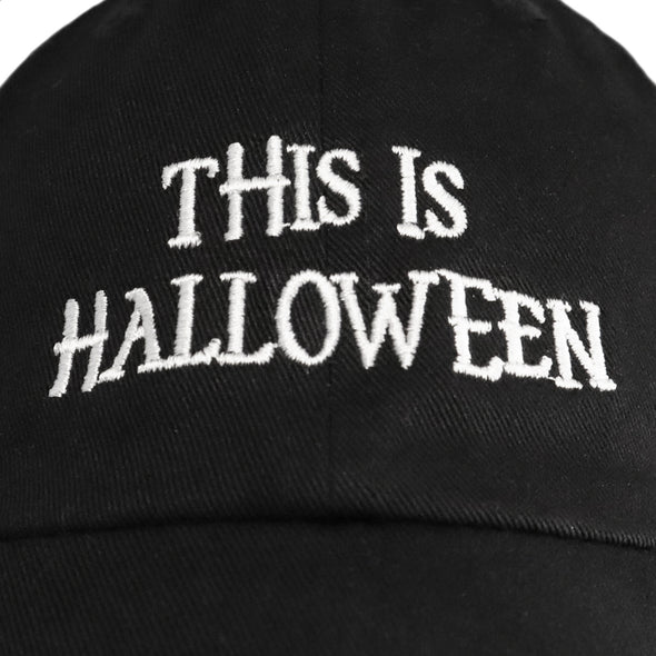 This Is Halloween Dad Hat