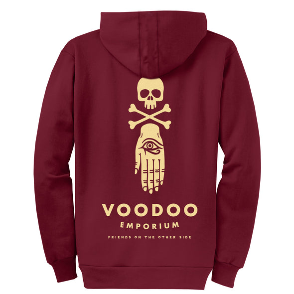 Voodoo Emporium Zipper Hoodie - Whosits & Whatsits