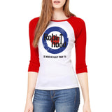 Who-De-Lally Women's Baseball Tee
