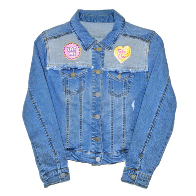 World of My Own Denim Jacket