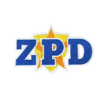ZPD Officer Patch - Whosits & Whatsits