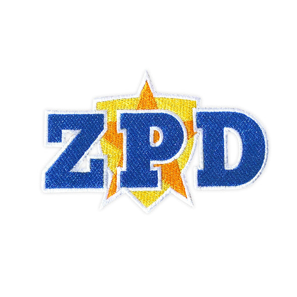ZPD Officer Patch - Whosits Whatsits