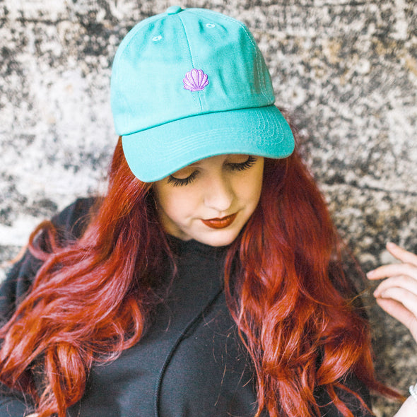Mermaid Shell Dad Hat