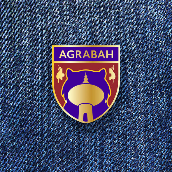 Agrabah Crest Pin - Whosits Whatsits
