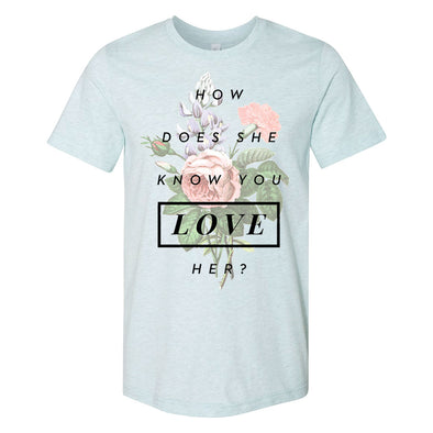 How Does She Know Unisex T-Shirt - Whosits & Whatsits