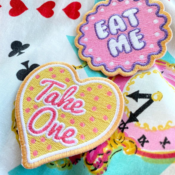 Wonderland Cookie Patches - Whosits Whatsits