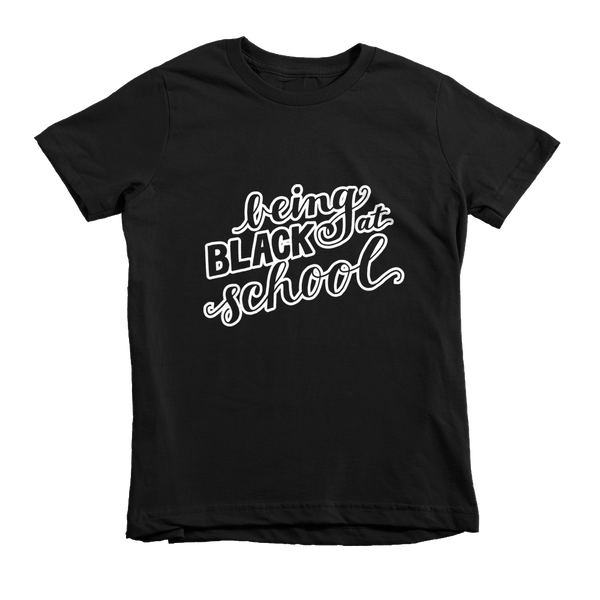 Being Black at School - Kids T-shirt